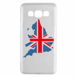 Чехол для Samsung A3 2015 Флаг Англии