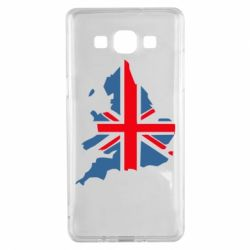 Чехол для Samsung A5 2015 Флаг Англии