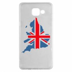 Чехол для Samsung A5 2016 Флаг Англии