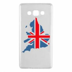Чехол для Samsung A7 2015 Флаг Англии