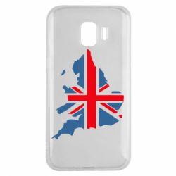 Чехол для Samsung J2 2018 Флаг Англии