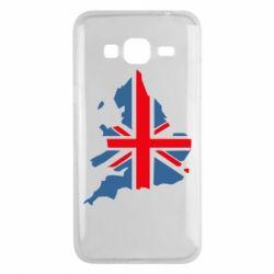 Чехол для Samsung J3 2016 Флаг Англии