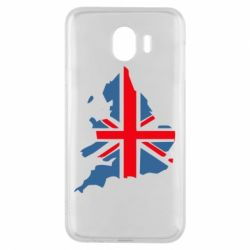Чехол для Samsung J4 Флаг Англии