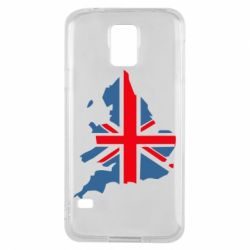 Чехол для Samsung S5 Флаг Англии