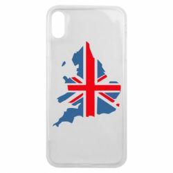 Чехол для iPhone Xs Max Флаг Англии