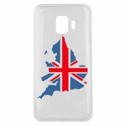 Чехол для Samsung J2 Core Флаг Англии