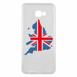 Чехол для Samsung J4 Plus 2018 Флаг Англии