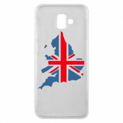 Чехол для Samsung J6 Plus 2018 Флаг Англии