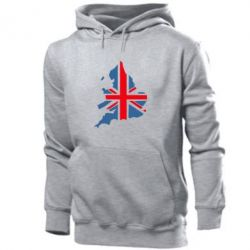 Толстовка Флаг Англии - FatLine