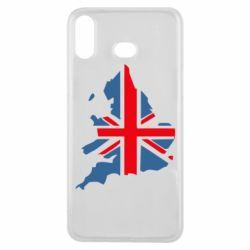 Чехол для Samsung A6s Флаг Англии