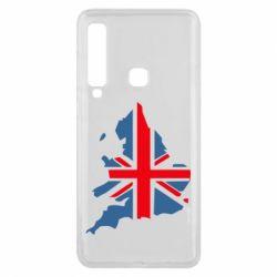Чехол для Samsung A9 2018 Флаг Англии