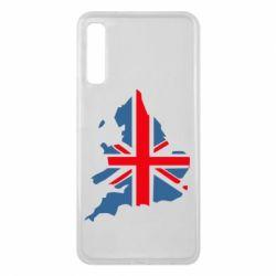 Чехол для Samsung A7 2018 Флаг Англии