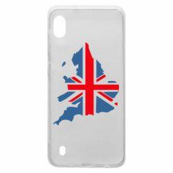 Чехол для Samsung A10 Флаг Англии