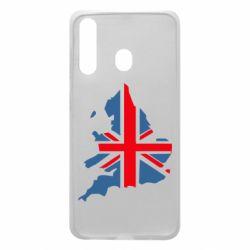 Чехол для Samsung A60 Флаг Англии