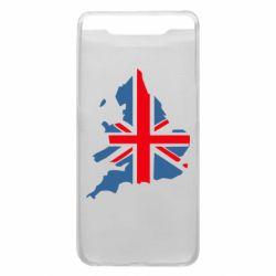 Чехол для Samsung A80 Флаг Англии