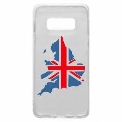 Чехол для Samsung S10e Флаг Англии