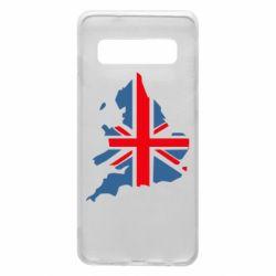 Чехол для Samsung S10 Флаг Англии