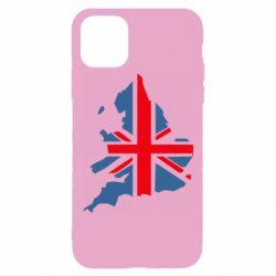 Чехол для iPhone 11 Pro Флаг Англии