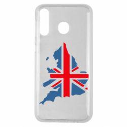 Чехол для Samsung M30 Флаг Англии