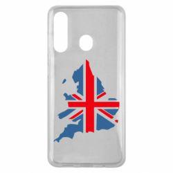 Чехол для Samsung M40 Флаг Англии