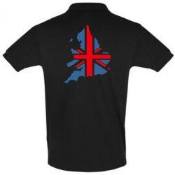 Футболка Поло Флаг Англии - FatLine