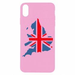 Чехол для iPhone X/Xs Флаг Англии