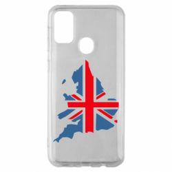 Чехол для Samsung M30s Флаг Англии