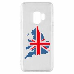 Чехол для Samsung S9 Флаг Англии