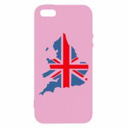 Чехол для iPhone5/5S/SE Флаг Англии
