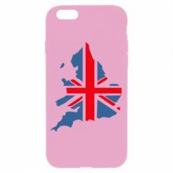 Чехол для iPhone 6 Флаг Англии