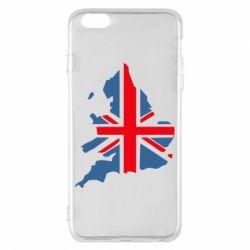 Чехол для iPhone 6 Plus/6S Plus Флаг Англии