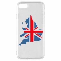 Чехол для iPhone 7 Флаг Англии