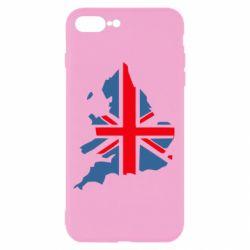 Чехол для iPhone 7 Plus Флаг Англии