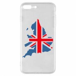 Чехол для iPhone 8 Plus Флаг Англии