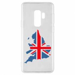 Чехол для Samsung S9+ Флаг Англии