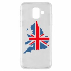 Чехол для Samsung A6 2018 Флаг Англии