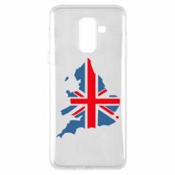 Чехол для Samsung A6+ 2018 Флаг Англии