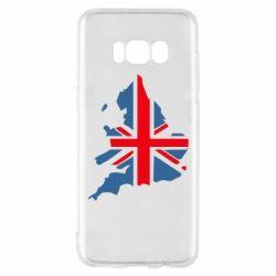 Чехол для Samsung S8 Флаг Англии
