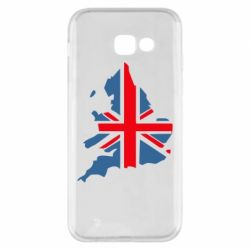 Чехол для Samsung A5 2017 Флаг Англии