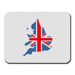Коврик для мыши Флаг Англии - FatLine