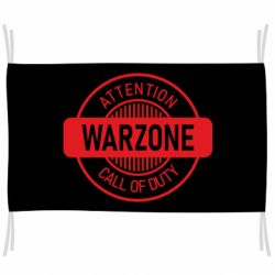 Флаг Attention Warzone