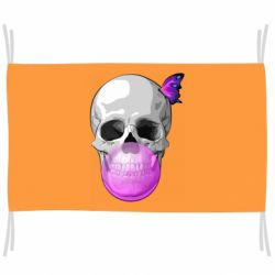 Прапор Butterfly on the skull