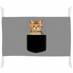 Флаг Cat in your pocket