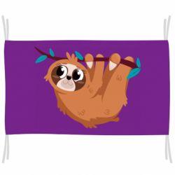 Прапор Cute sloth