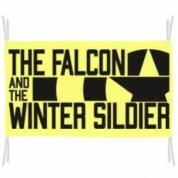 Прапор Falcon and winter soldier logo
