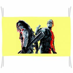 Прапор Falcon and Winter Soldier