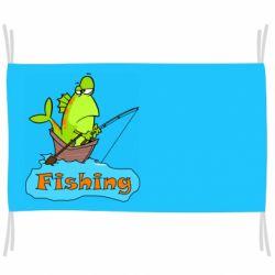 Флаг Fish Fishing