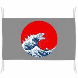 Прапор Godzilla Wave