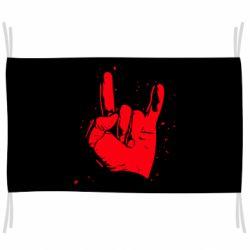 Флаг HEAVY METAL ROCK