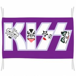 Прапор Kiss the music band